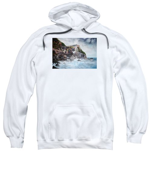 Manarola Italy Sweatshirt by Jean Walker