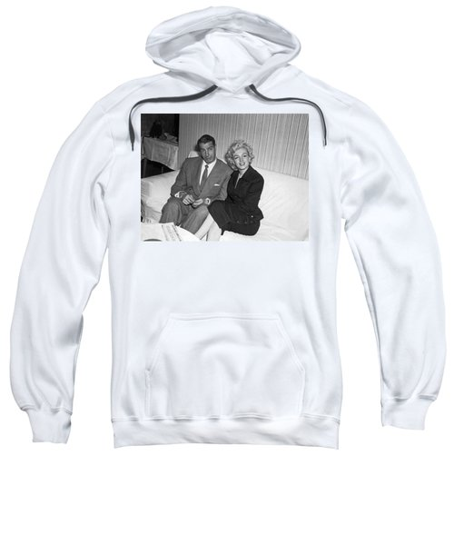Marilyn Monroe And Joe Dimaggio Sweatshirt