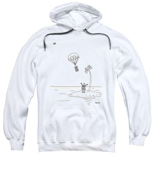 Marooned On An Island Sweatshirt