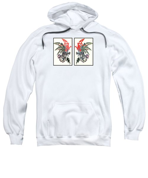 Mech Dragons Collide Sweatshirt