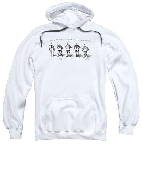 Men's-hemline Predictions For The Nineties Sweatshirt