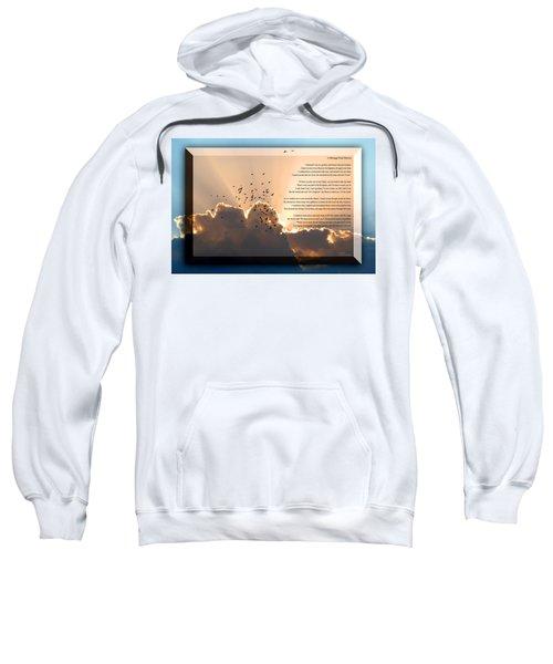 Message From Heaven Sweatshirt