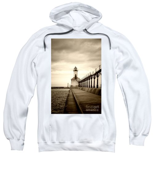 Michigan City Lighthouse Sweatshirt