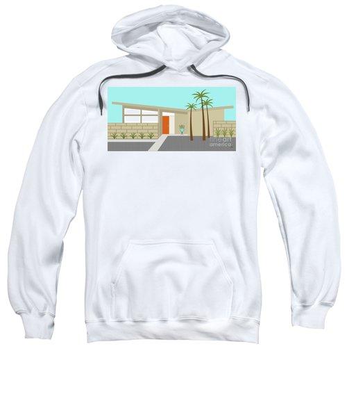 Mid Century Modern House 1 Sweatshirt