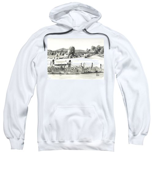 Midsummer View Out Route Jj   No I101 Sweatshirt