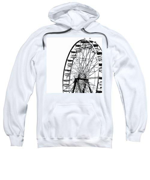 Minimalist Ferris Wheel - Square Sweatshirt