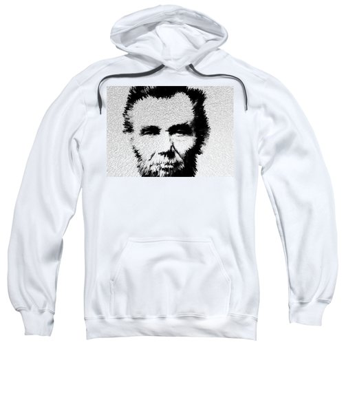 Modern Abe - Abraham Lincoln Art By Sharon Cummings Sweatshirt