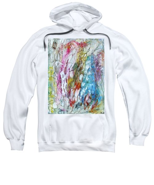 Monet's Garden Sweatshirt