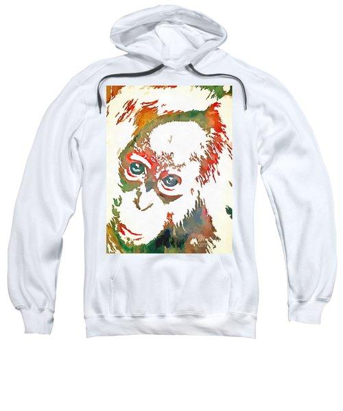 Monkey Pop Art Sweatshirt