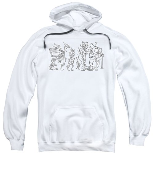 Monster  Queue Sweatshirt