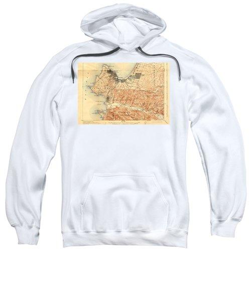 Monterey And Carmel Valley  Monterey Peninsula California  1912 Sweatshirt