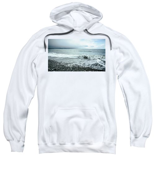 Moody Shoreline French Beach Sweatshirt