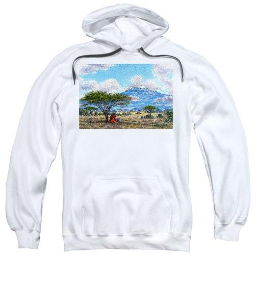 Mount Kilimanjaro Sweatshirt