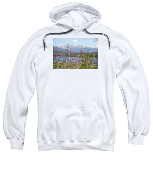 Mountain Wildflowers Sweatshirt