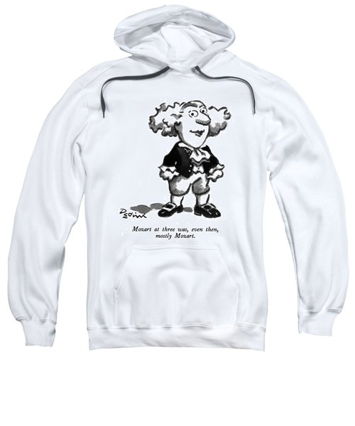 Mozart At Three Sweatshirt