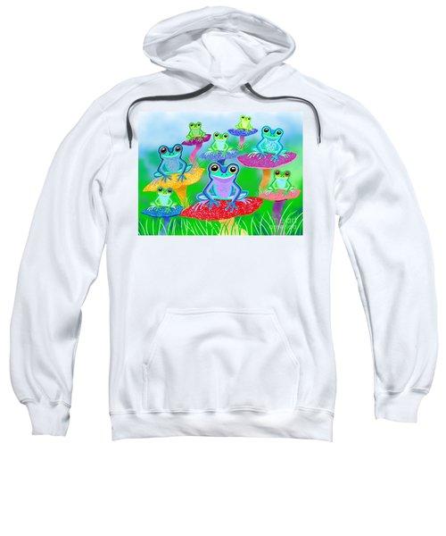 Mushroom Valley Frogs Sweatshirt