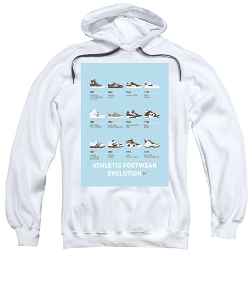 My Evolution Sneaker Minimal Poster Sweatshirt