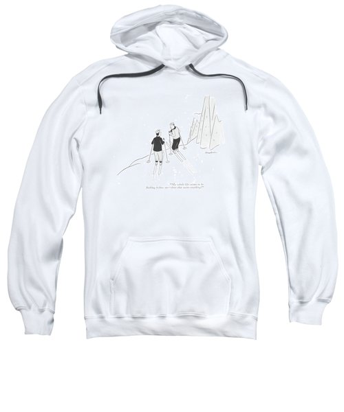My Whole Life Seems To Be ?ashing Before Me - Sweatshirt