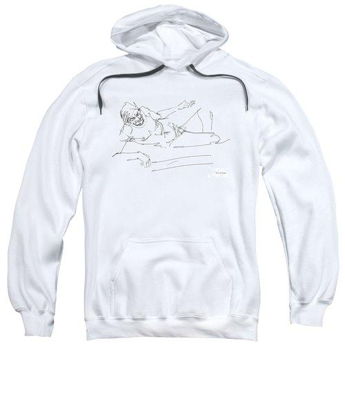 Naked-man-art-16 Sweatshirt