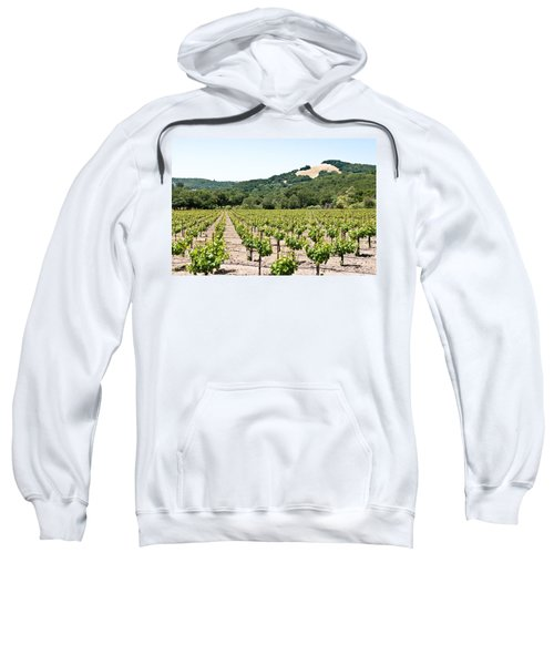 Napa Vineyard With Hills Sweatshirt