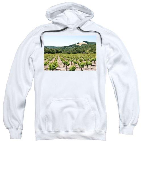 Napa Vineyard With Hills Sweatshirt