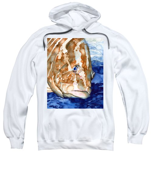 Nassau Grouper Portrait Sweatshirt