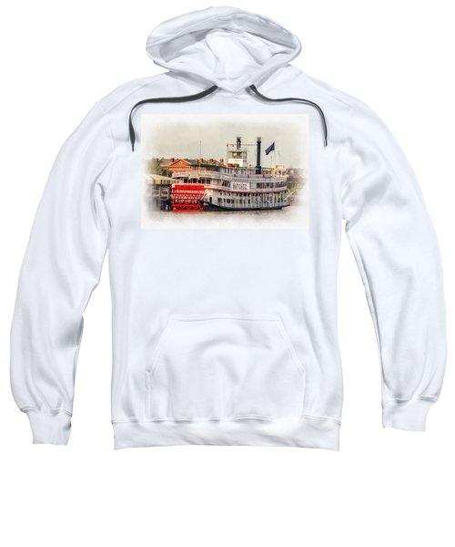 Natchez Sternwheeler Paint Sweatshirt