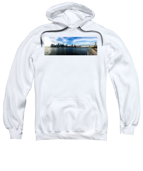 New York Skyline - Color Sweatshirt by Nicklas Gustafsson
