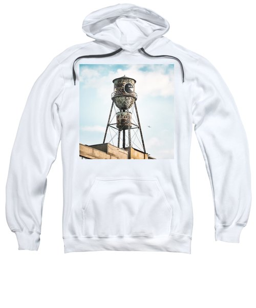 New York Water Towers 9 - Bed Stuy Brooklyn Sweatshirt
