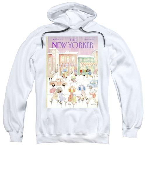 New Yorker April 16th, 1984 Sweatshirt