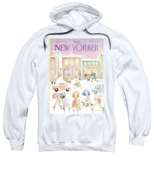 New Yorker April 16th, 1984 Sweatshirt