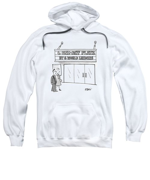 New Yorker April 16th, 1990 Sweatshirt
