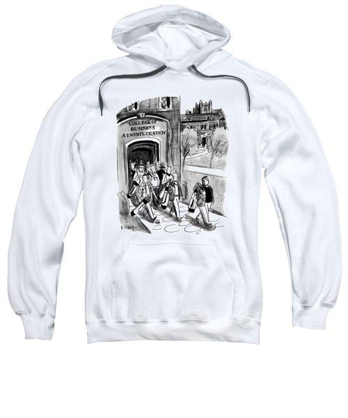New Yorker April 24th, 1954 Sweatshirt