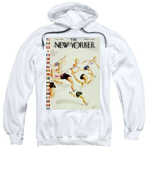New Yorker August 1 1936 Sweatshirt