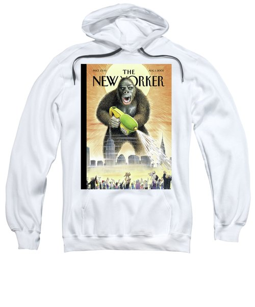 New Yorker August 1st, 2005 Sweatshirt