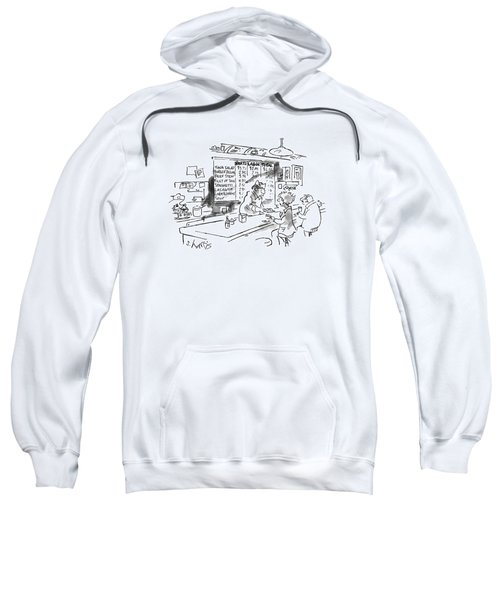 New Yorker August 21st, 1995 Sweatshirt