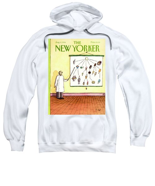 New Yorker August 4th, 1986 Sweatshirt