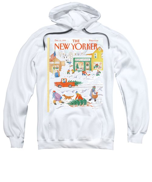 New Yorker December 10th, 1984 Sweatshirt