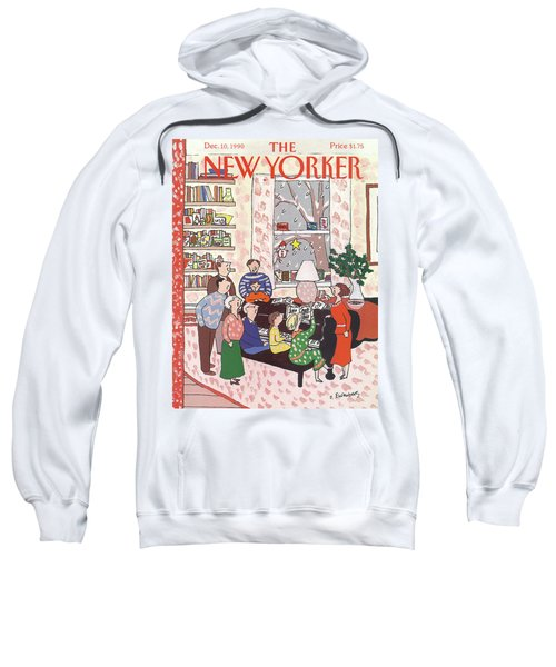 New Yorker December 10th, 1990 Sweatshirt