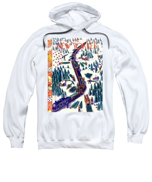 New Yorker December 12 1938 Sweatshirt