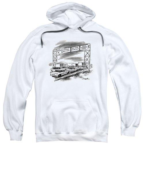 New Yorker December 1st, 1986 Sweatshirt