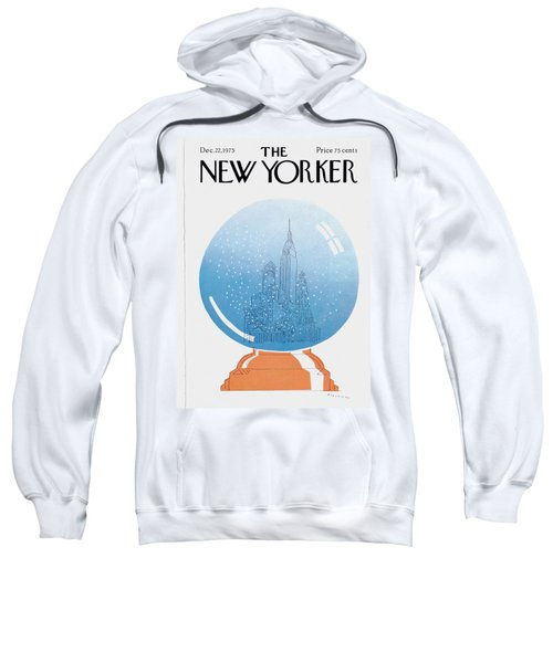 New Yorker December 22nd, 1975 Sweatshirt