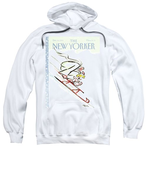 New Yorker December 30th, 1991 Sweatshirt