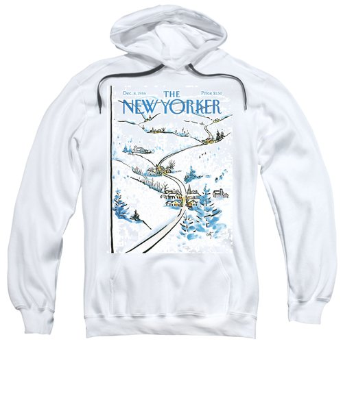 New Yorker December 8th, 1986 Sweatshirt
