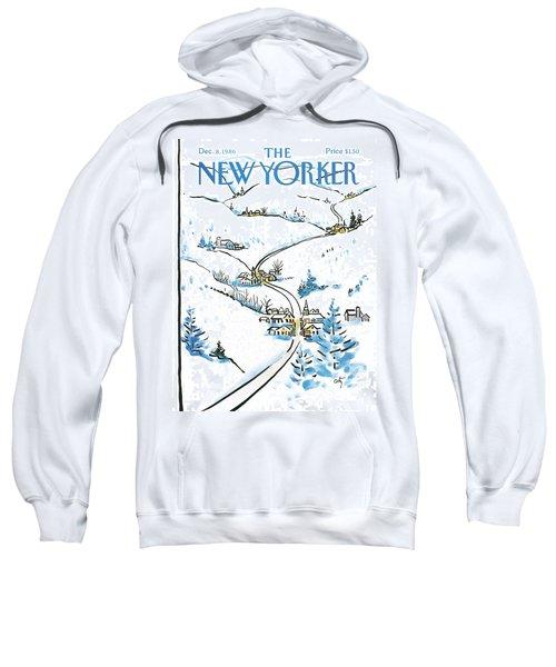 New Yorker December 8th, 1986 Sweatshirt