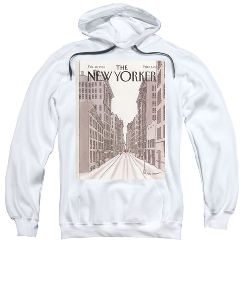 New Yorker February 10th, 1986 Sweatshirt