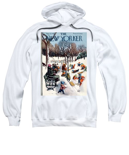 New Yorker February 26th, 1955 Sweatshirt