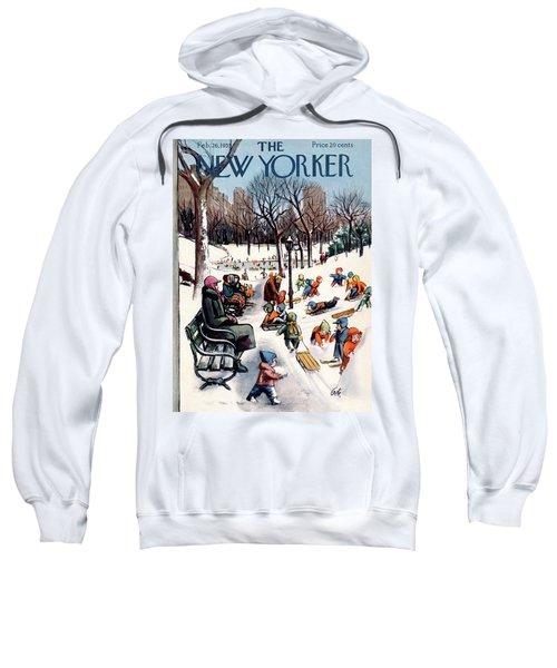 New Yorker February 26th, 1955 Sweatshirt
