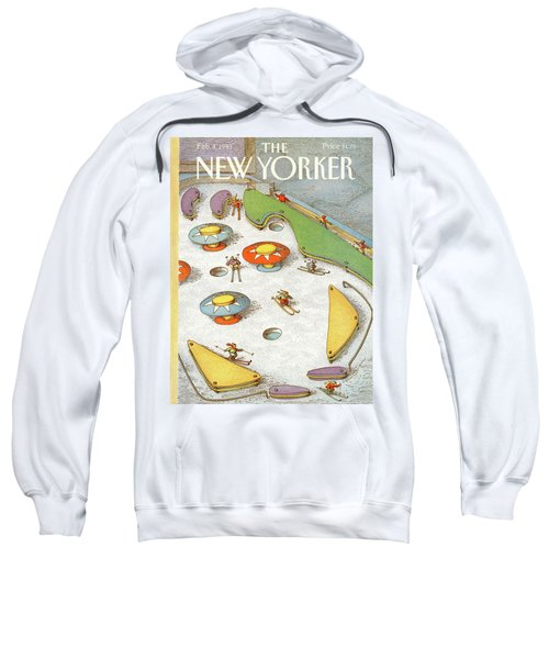 New Yorker February 4th, 1991 Sweatshirt