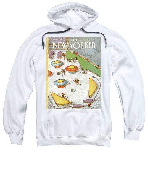 New Yorker February 4th, 1991 Sweatshirt